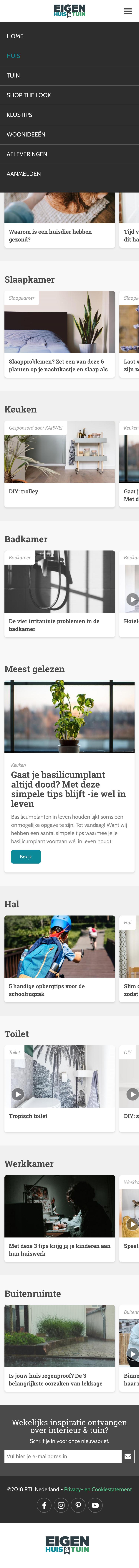 Rtl Nederland Eigen Huis Tuin Livewall Concepts