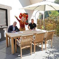 Kees Smit Tuinmeubelen nieuwe sponsor Villa Pardoes