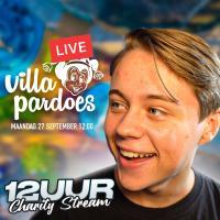 Dani Visser zet zich met 12-uur stream in voor Villa Pardoes