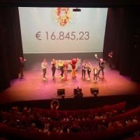€16.845,23 opgehaald voor Villa Pardoes
