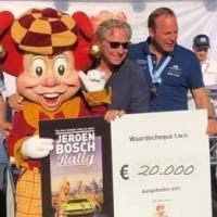 Rally cheque voor Villa Pardoes